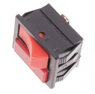 twin speed red control switch
